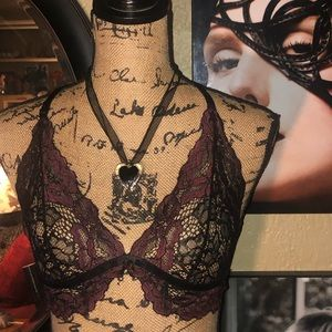 NWOT- Fredericks of Hollywood Lace